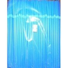 Трубочки коктейльные синие с гофрой MONO 250 штук (0,5*21см)