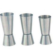 Джиггер из нержавеющей стали MGSteel 25/50мл, Артикул: JI23, Производитель: MGSteel (Индия)