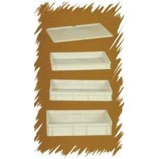 Контейнер для теста пластиковый Gimetal 600*400*70мм, Артикул: CASS604007, Производитель: GI.METAL (Италия)
