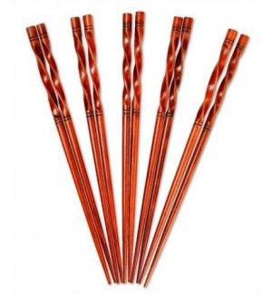 Набор бамбуковых палочек (5 пар) 2,1*23см, Артикул: B-10752, Производитель:
