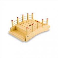 Блюдо мостик Бамбук 26*17*9,5см, Артикул: BD01-004/26, Производитель: Sabotage Design (Япония)