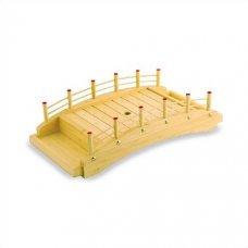 Блюдо мостик из дерева 43*22,5*11,5см, Артикул: D01-004/43, Производитель: Sabotage Design (Япония)