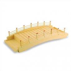 Блюдо мостик из дерева 60*25*13см, Артикул: D01-004/60, Производитель: Sabotage Design (Япония)
