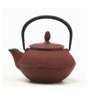 Чайник чугунный Xingtai 450мл, Артикул: A2329-0,45L/CherryRed, Производитель: Xingtai Sanxia Cast Iron CO LTD (Китай)