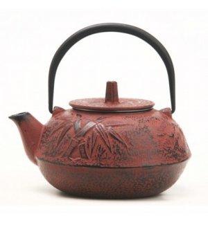 Чайник чугунный Xingtai 600мл, Артикул: G-013-0,6L/CherryRed, Производитель: Xingtai Sanxia Cast Iron CO LTD (Китай)