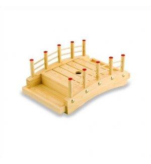 Блюдо мостик из дерева 26*17*9,5см, Артикул: D01-004/26, Производитель: Sabotage Design (Япония)