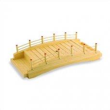 Блюдо мостик из дерева 50*23,5*12,5см, Артикул: D01-004/50, Производитель: Sabotage Design (Япония)