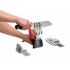 Ножеточка с 3-мя съемными точилами, черная Icel, Артикул: 941.0629.00, Производитель: Icel (Португалия)