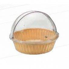 Корзина для хлеба круглая с крышкой Roll-Top 48*38,5см, Артикул: 97150762, Производитель: Pintinox (Италия)