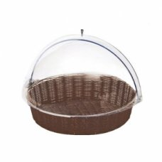 Корзина для хлеба круглая с крышкой Pinti 48*12см, Артикул: 97150764, Производитель: Pintinox (Италия)