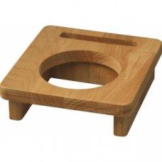 Деревянная подставка для кастрюли d=10см