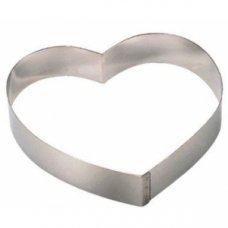 Форма для выкладки и выпечки Сердце De Buyer d=16см, h=4см, Артикул: 3077.16, Производитель: De Buyer (Франция)
