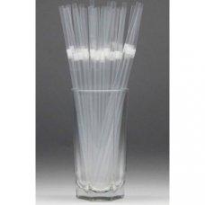 Трубочки коктейльные прозрачные с гофрой 250 штук (0,5*24см), Артикул: 53444, Производитель:
