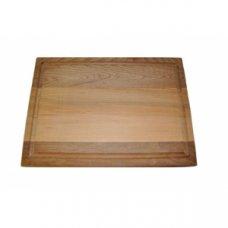 Деревянная прямоугольная подставка под горячее 35*25см