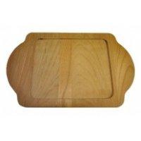 Деревянная подставка для сковороды-мини 15*12см