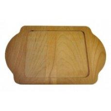 Деревянная подставка для сковороды-мини 15*12см, Артикул: LV ECO P TV 1215 K4 Р, Производитель: Доски буковые (Россия)