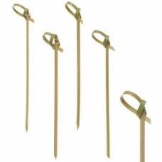 Пики деревянные Узелок 100 штук (L=10см), Артикул: HNC-297, Производитель: