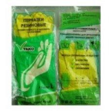 Перчатки резиновые YAKO M (1 пара), Артикул: 53904, Производитель: