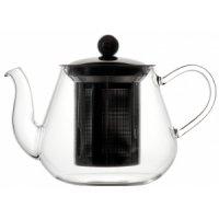 Чайник из боросиликатного стекла с фильтром 600мл