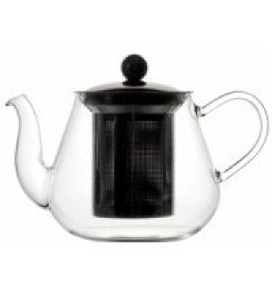 Чайник из боросиликатного стекла с фильтром 900мл, Артикул: 1972, Производитель: MGSteel (Китай)