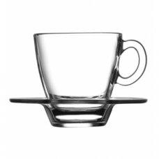 Кофейная пара Аква Pasabahce 70мл, Артикул: 95756, Производитель: Pasabahce-завод Бор (Россия)