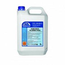 Моющее средство для сантехники и туалетов Sani Max Klorin2000 5л