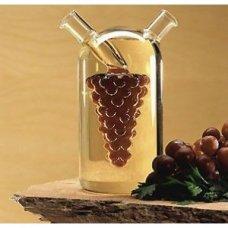 Бутылка для масла и уксуса Виноград 2 в 1 (375мл/50мл), Артикул: 2260у, Производитель: Мерные стаканы (Россия)
