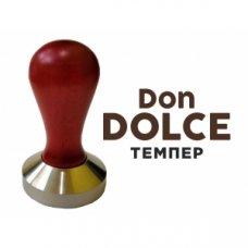 Темпер для кофе Don Dolce 57мм Красное дерево/Нержавеющая сталь, Артикул: УТ-15, Производитель: Don Dolce (Россия)