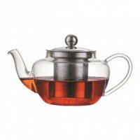 Стеклянный заварочный чайник с фильтром 500мл