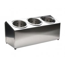 Емкость для столовых приборов с тремя секциями, Артикул: 532, Производитель: Juangmen Huiyuan Trade Co.LTD (Китай)