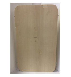 Доска разделочная березовая с металлическими стяжками 400*300*30мм, Артикул: 55571, Производитель: Доски березовые (Россия)