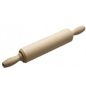 Скалка березовая с вращающейся ручкой L=50см, Артикул: 55578, Производитель: Доски березовые (Россия)
