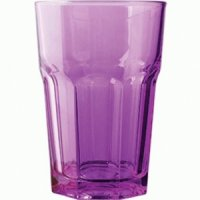 Хайбол фиолетовый закаленный Энджой Pasabahce 360мл
