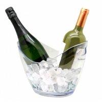 Ведро для шампанского пластиковое для 2-х бутылок VB