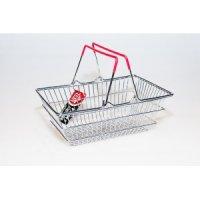 Корзинка для подачи закусок металлическая Магазин 235*152*90мм