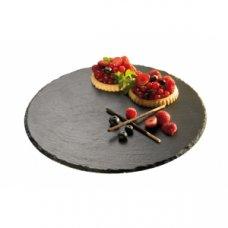 Подставка для торта из сланца APS d=32см, h=2,5см, Артикул: 00975, Производитель: APS (Германия)