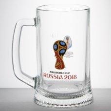 Кружка для пива Ладья Эмблема 0,5л (d=135мм, h=160мм), Артикул: N6947/0, Производитель: Опытный стекольный завод (Россия)