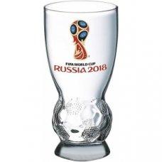 Стакан для пива Футбол Эмблема 0,41л, Артикул: N6950/0, Производитель: Опытный стекольный завод (Россия)