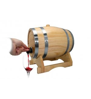 Бочонок для вина деревянный VB 3л, Артикул: FIA 340, Производитель: Vin Bouquet (Испания)