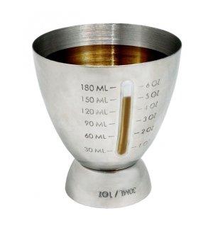 Джиггер нержавеющая VB 30/180мл, Артикул: FIK 157, Производитель: Vin Bouquet (Испания)