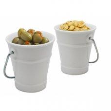 Ведро для закусок фарфоровое VB 200мл (d=100мм, h=85мм), Артикул: FIH 311, Производитель: Vin Bouquet (Испания)