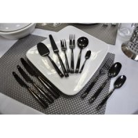 Нож столовый Infinito Black Pintinox 18/10 3мм