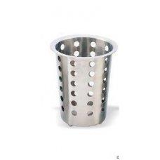 Емкость для столовых приборов нержавеющая MGSteel d=95мм, h=130мм, Артикул: FC2NM, Производитель: MGSteel (Индия)