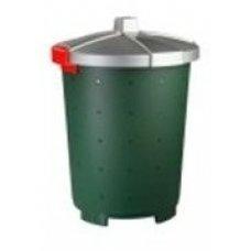 Бак пищевой полипропиленовый зеленый 45л, 42*57см