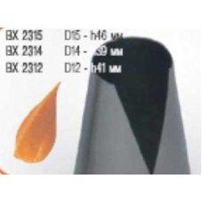 Насадка кондитерская нержавеющая Конус d=12мм, h=41мм, Артикул: BX 2312, Производитель: Martellato (Италия)