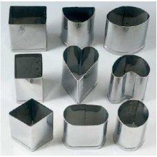 Набор резаков для пралине 9 предметов s/s, Артикул: PRA 9, Производитель: Martellato (Италия)