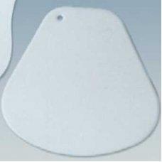 Скребок жесткий пластиковый 150*150мм, Артикул: RTV 2, Производитель: Martellato (Италия)