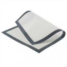 Коврик белый силиконовый на тканной основе 39,5*59,5см, Артикул: SILICOPAT 1/B, Производитель: Martellato (Италия)