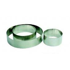 Форма для выкладки и выпечки Круг MGSteel d=8см, h=4,5см, Артикул: CRR8, Производитель: MGSteel (Индия)