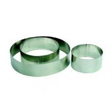 Форма для выкладки и выпечки Круг MGSteel d=10см, h=3,5см , Артикул: CRR2, Производитель: MGSteel (Индия)